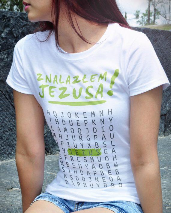 religijnie.pl-koszulka-religijna-damska-znalazlem-jezusa-01