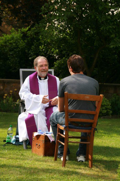 religijnie - spowiedź poza konfesjonałem 1